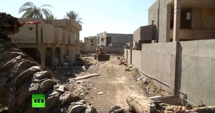 RT посетил освобождённый город Эр-Рамади, который продолжает восстанавливать армия Ирака