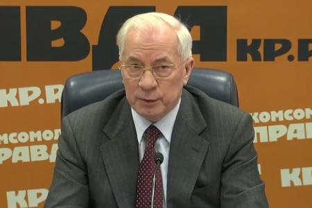 Николай Азаров: я не намерен возглавлять ДНР