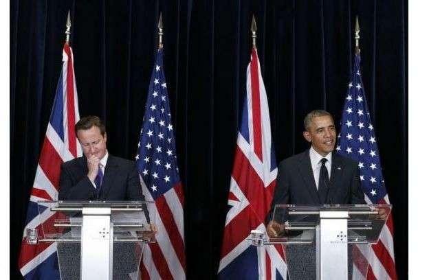 Обама разошёлся во взглядах с Кэмероном о будущем ЕС