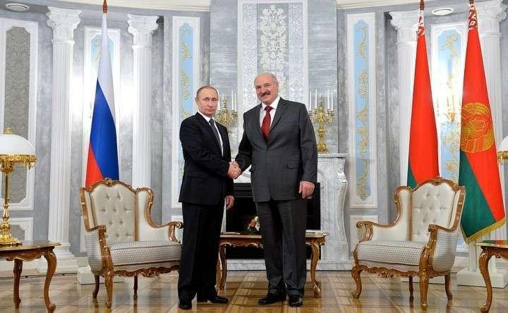 Встреча Владимира Путина с Президентом Белоруссии Александром Лукашенко