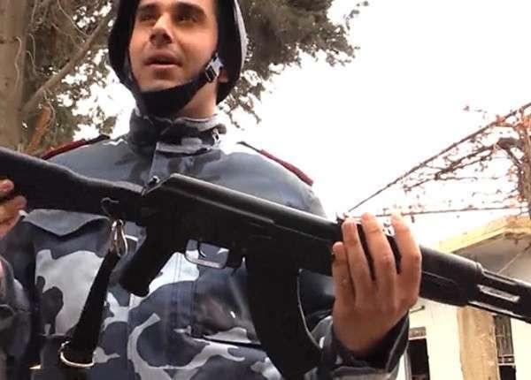 Спецназ МВД Сирии опробовал на передовой новые АК-104