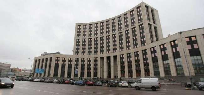 Здание Внешэкономбанка России Фото: © РИА Новости. Виталий Белоусов