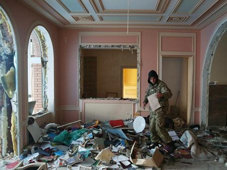 The Daily Mail показал, как воры похозяйничали в особняке экс-генпрокурора Украины Пшонки
