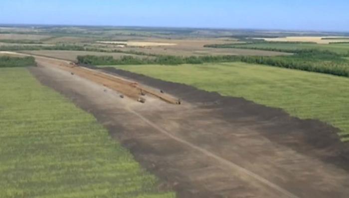 Железнодорожные войска достроят второй участок дороги в обход Украины к августу
