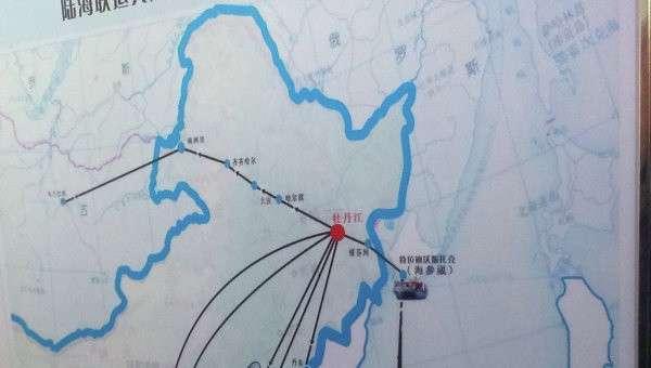 Схема перевозки грузов из Китая в Россию. Архивное фото © РИА Новости. Лариса Докучаева