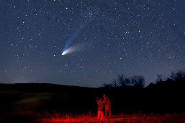 Кометы суть плазменные образования - эфиродомены