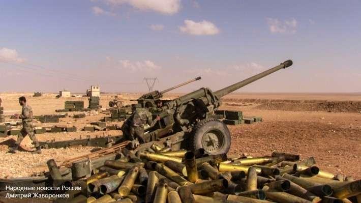 Свыше тысячи боевиков сдались в плен властям на юге Сирии
