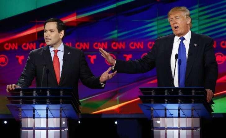 Перебранка жлобов: кандидаты-республиканцы переходят на личности