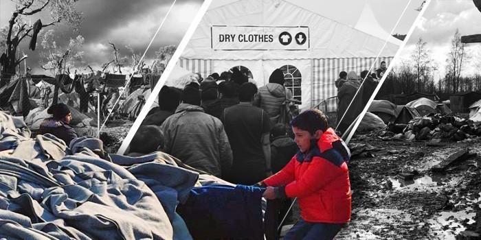 Как устроена жизнь в лагерях беженцев: фотографии из соцсетей