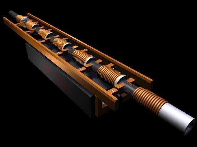 Оружие будущего: электромагнитная пушка