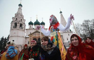 В Москве начинают праздновать Широкую Масленицу