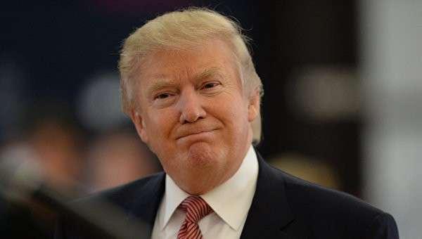 Американский миллиардер и телеведущий Дональд Трамп в Москве