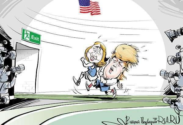 Трамп вернул себе силы, Сандерс остановил Клинтон в Мичигане
