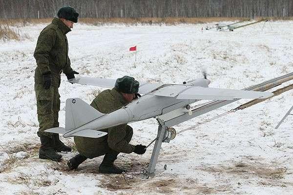 Беспилотники «Орлан-10» поступили в ВВО