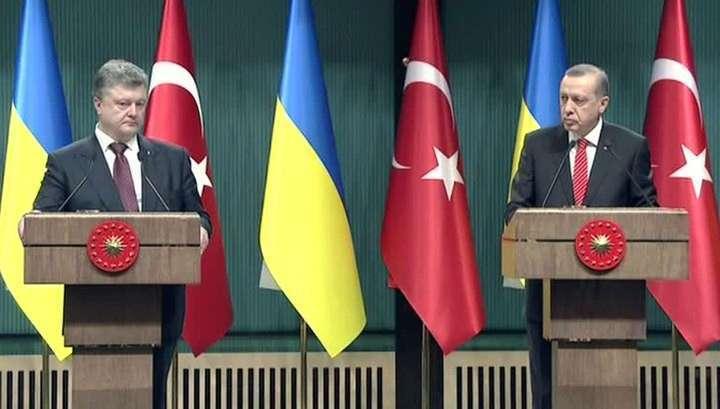 Самозванец Порошенко прибыл в Турцию просить денег