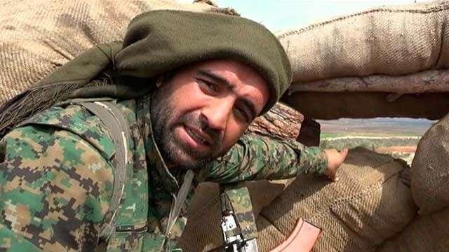 Бандитская Турция продолжает обстреливать поселки, где живут курды