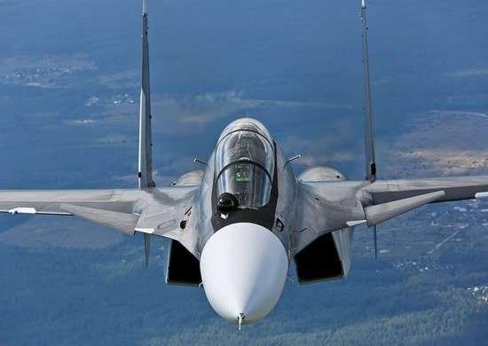 ВВС Восточного военного округа получили очередную партию многоцелевых истребителей Су-30СМ