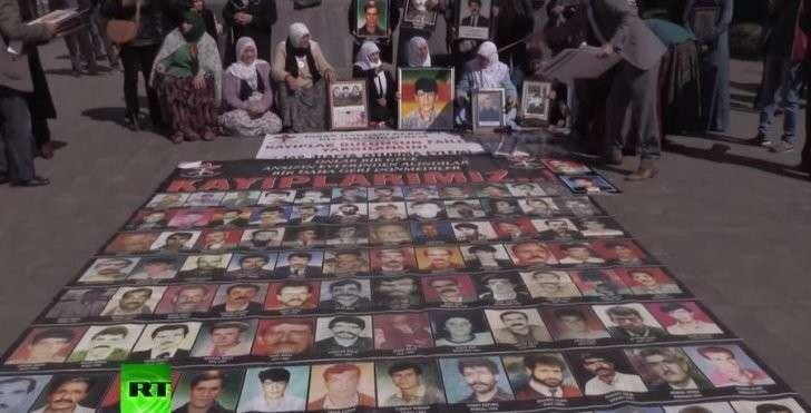 Турция: Диярбакыр — город мёртвых и пропавших без вести