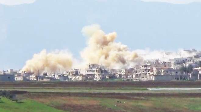 В провинции Хама сбит истребитель ВВС Сирии