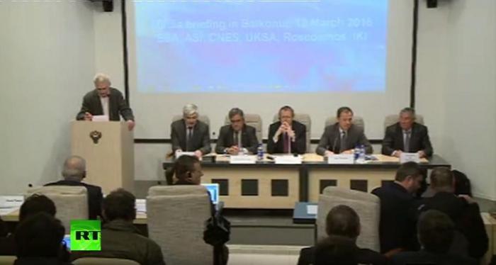 Пресс-конференция накануне старта миссии проекта «ЭкзоМарс» — прямая трансляция