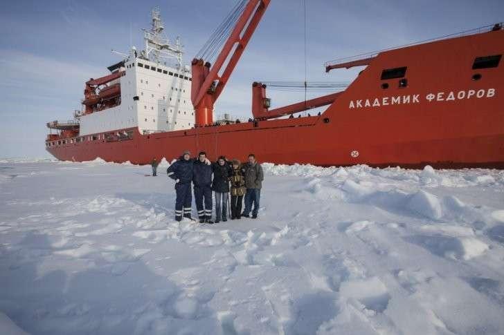 Русские вот-вот «аннексируют» Арктику