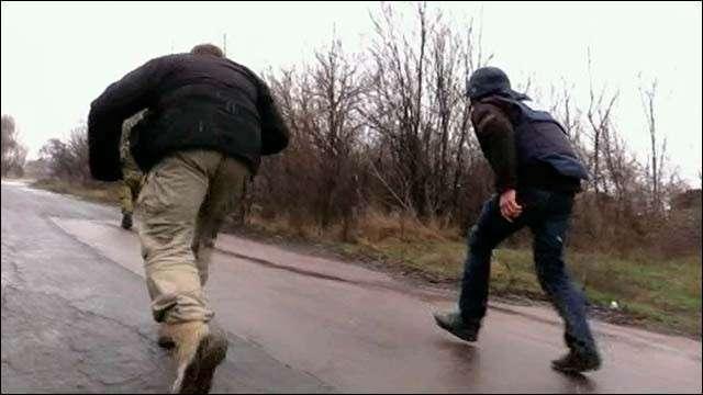 В Донбассе сегодня под обстрел попала большая группа журналистов