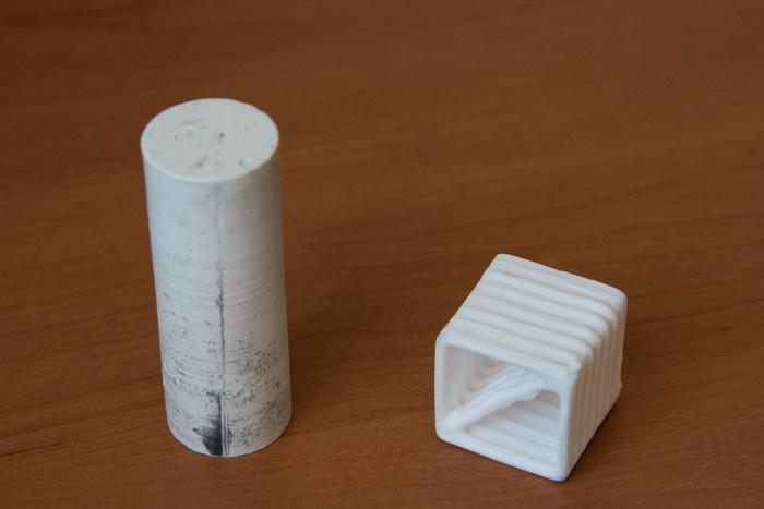 ВСибири создали единственный вмире 3-D принтер, печатающий керамику