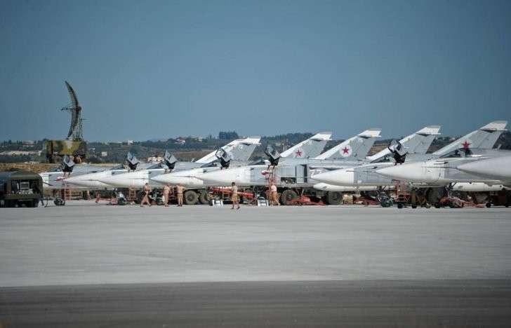 Вывод группировки русских войск изСирии