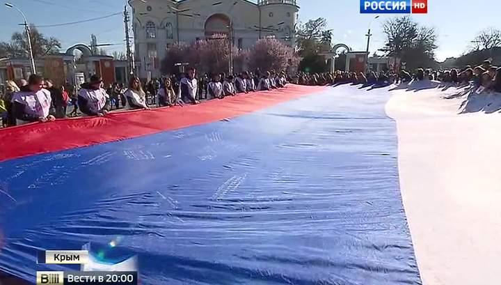 Крым отмечает вторую годовщину «Крымской весны»