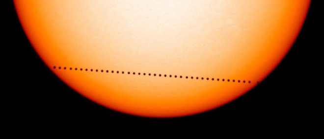 Транзит Меркурия по диску Солнца в 2003 году