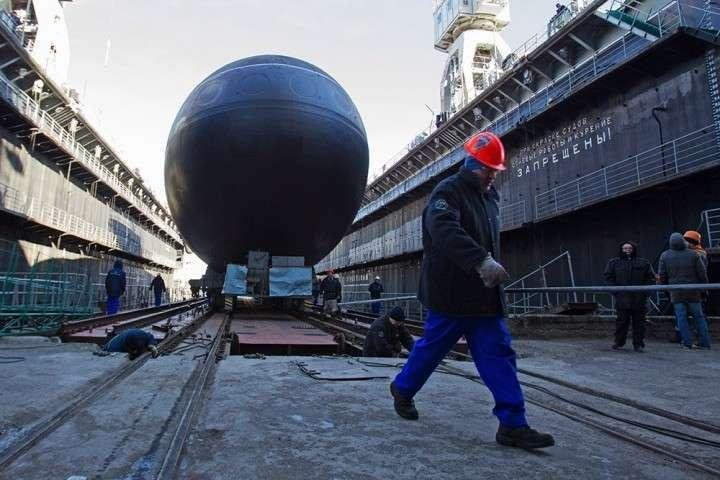 В Петербурге спустили на воду пятую «Варшавянку»