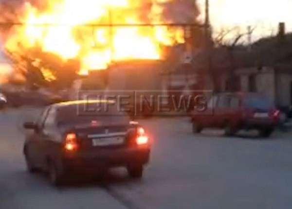 Число пострадавших при взрыве на заправке в Дагестане возросло до 25
