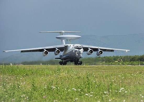 В район учения в Калининградской области прибыл самолет дальнего радиолокационного обнаружения А-50