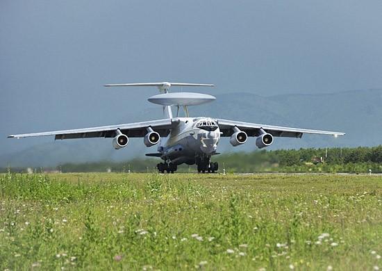 В район учения в Калининградской области прибыл самолёт дальнего радиолокационного обнаружения А-50
