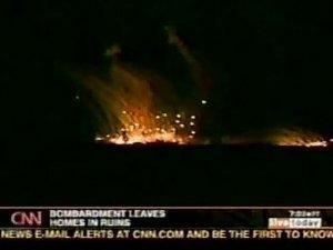 Военные эксперты: над Славянском разорвались бомбы с белым фосфором