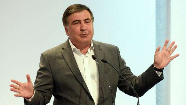 Губернатор Одесской области Михаил Саакашвили. Архивное фото