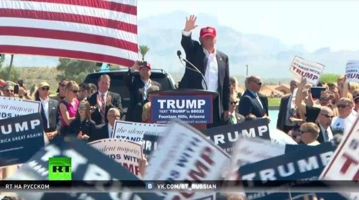 Масштабная кампания против Трампа лишь подогревает интерес избирателей