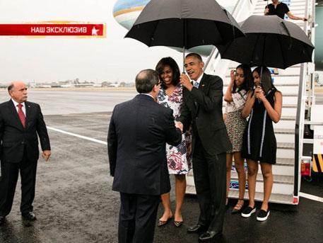 Дьявольская подоплёка: почему Рауль Кастро не приехал встречать Обаму
