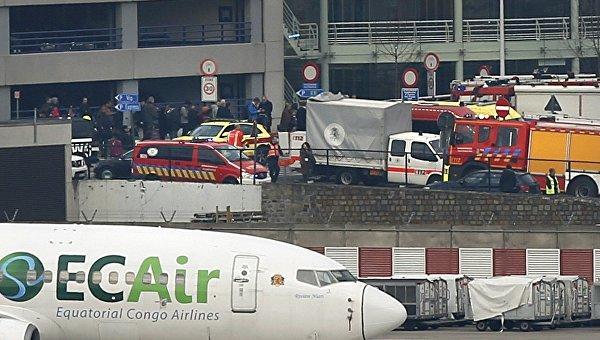 В аэропорту и метро Брюсселя прогремели взрывы. Есть жертвы