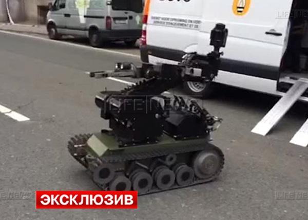 Взрыв в университете Брюсселя предотвратил робот-сапёр