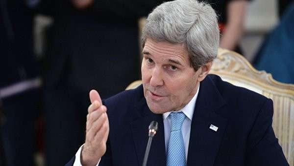 Государственный секретарь США Джон Керри во время встречи с министром иностранных дел РФ Сергеем Лавровым в Москве. Архив