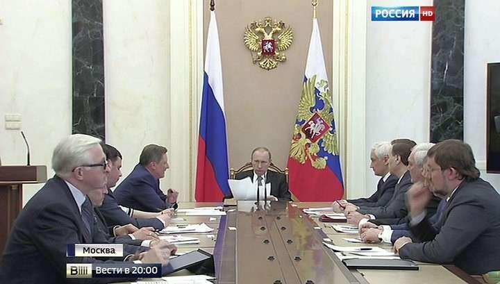 Без масок и автоматов: Владимир Путин призвал бизнесменов и правоохранителей договариваться по закону