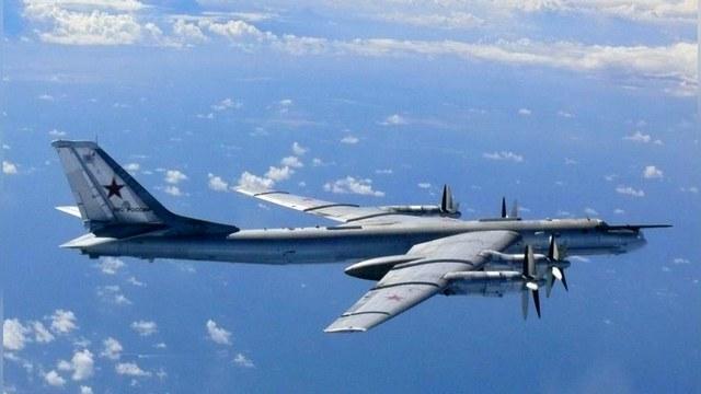Русские бомбардировщики напугали США