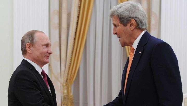 Владимир Путин видит заслугу Обамы в успехах России в Сирии