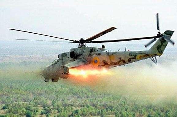 Вслед за БТР вертолет Украины ворвался в РФ и был сбит