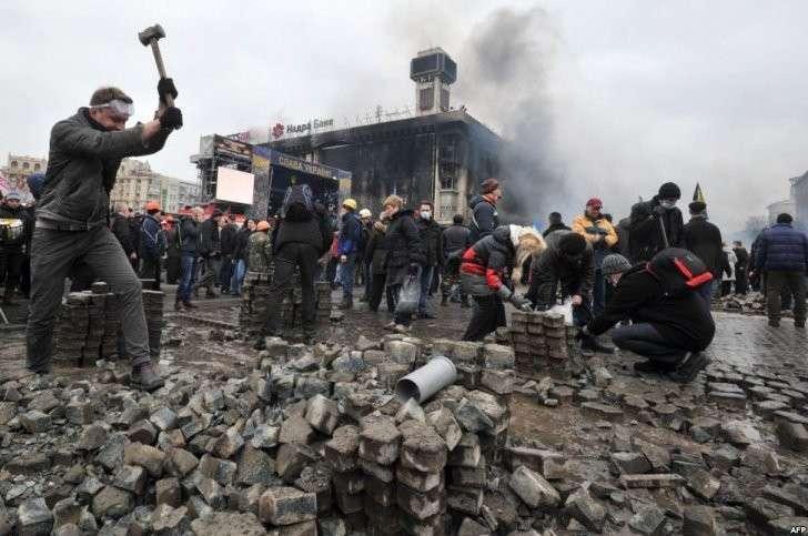 Майдан, разруха