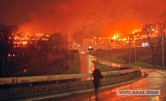 Как натовская мразь уничтожала Югославию