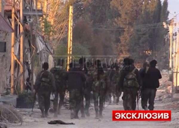 Сирийская армия берёт боевиков «Ан-Нусры» в котёл под Дамаском