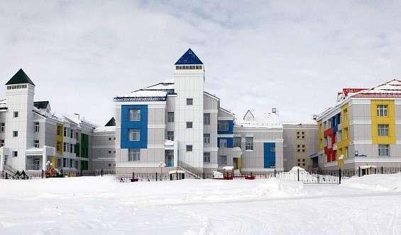 В г. Лабытнанги (Ямал) открылся детский сад «Ромашка»