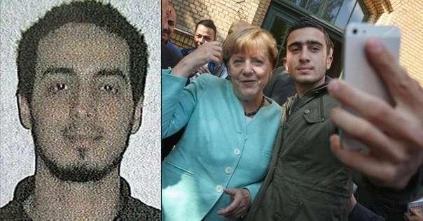 Осталось только дождаться подтверждения, что террорист-смертник, взорвавший себя в Брюсселе  и беженец на селфи с канцлером Германии  Меркель - одно лицо